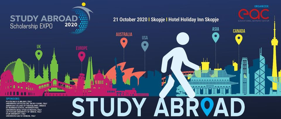 Scholarships Expo - Study Abroad 2020