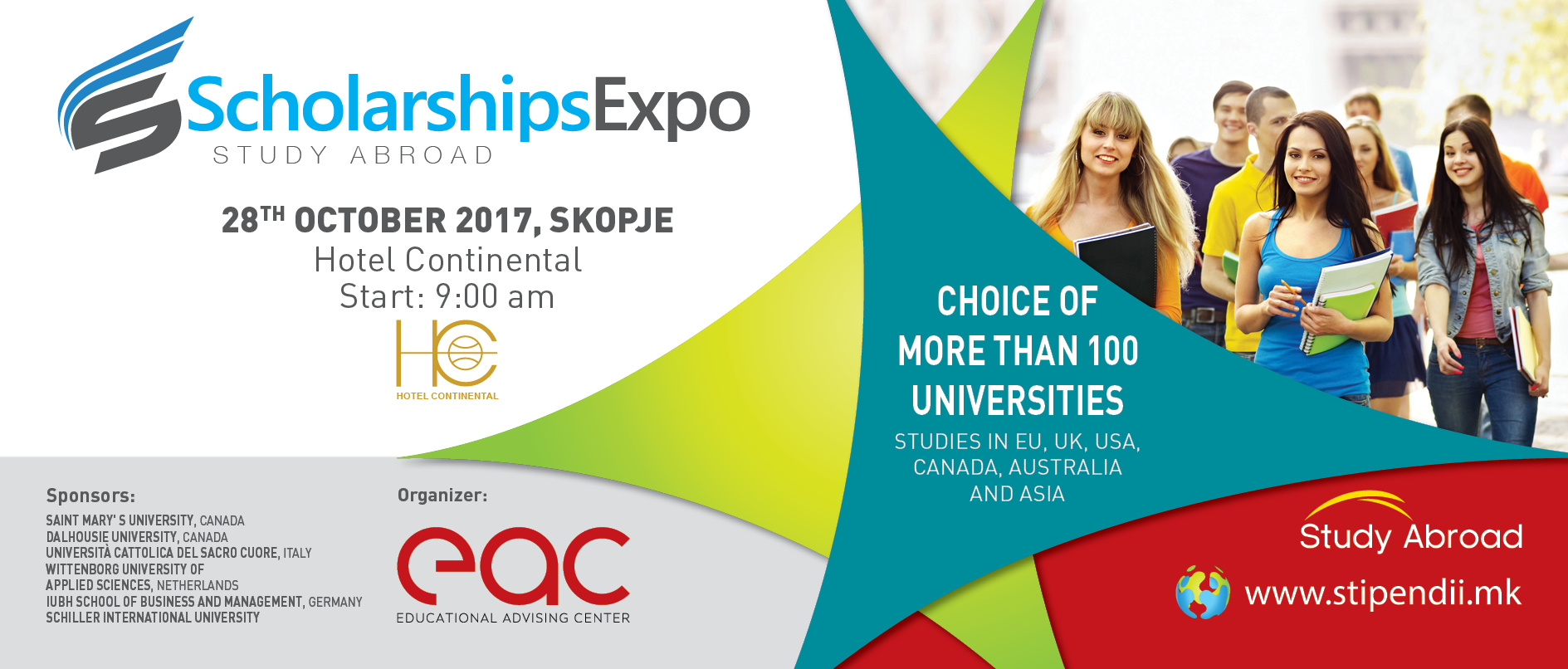 SCHOLARSHIPS EXPO - STUDY ABROAD 2017
